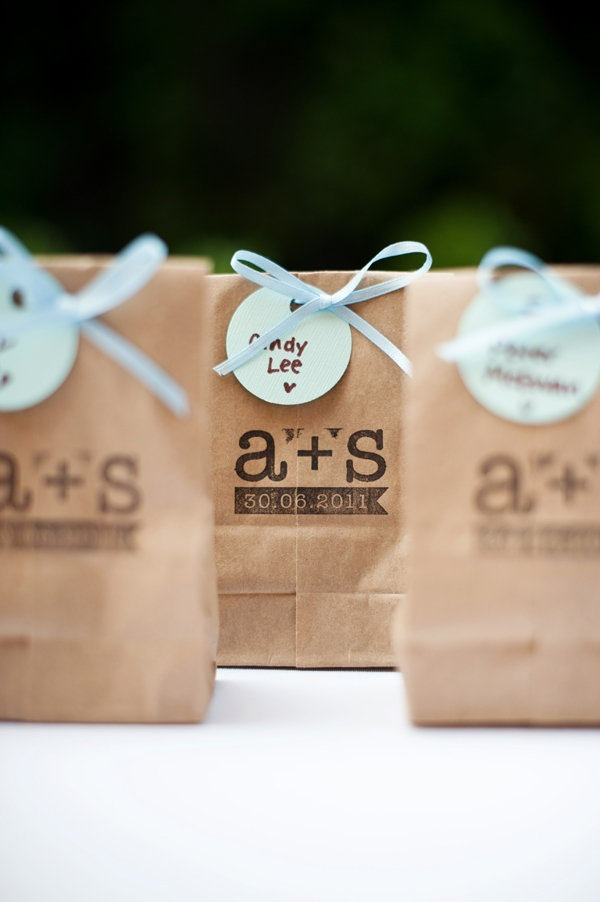 ... you going for a goody bag option at your wedding? Let us know below x